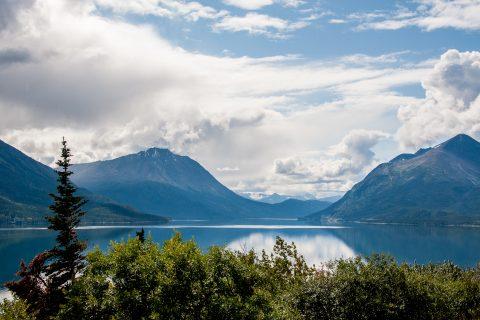 Windy Arm, Nares Lake, Yukon, Canada