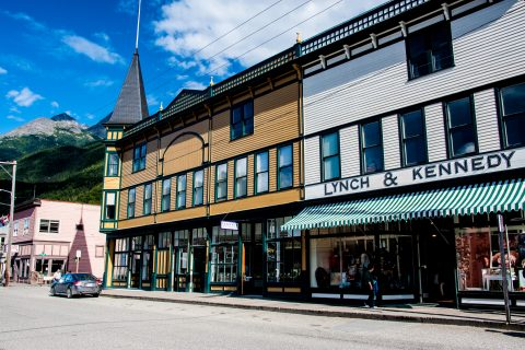 Skagway shops, Alaska