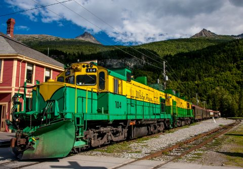 White Pass & Yukon Railway, Skagway, Alaska