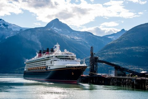 Cruise ship Skagway, Alaska