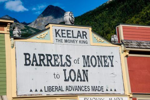 Skagway signs, Alaska