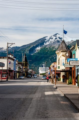 Broadway, Skagway, Alaska