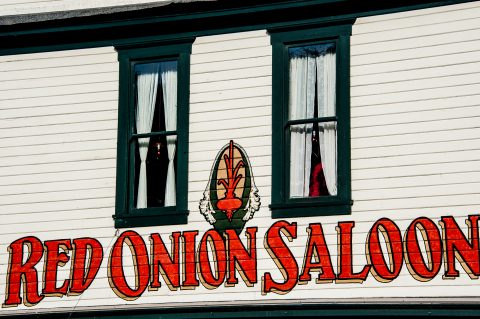 Red Onion Saloon (1898), Skagway, Alaska