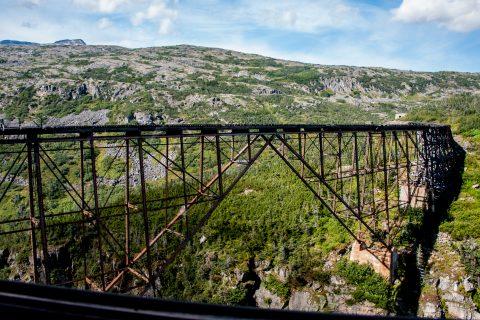 White Pass & Yukon Route bridge (1901), Skagway, Alaska