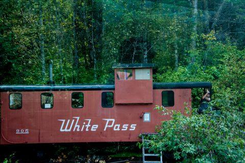 White Pass & Yukon Route maintenance coach