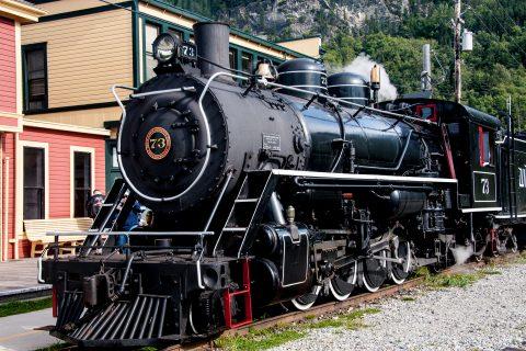 White Pass & Yukon Route steam engine (1947)