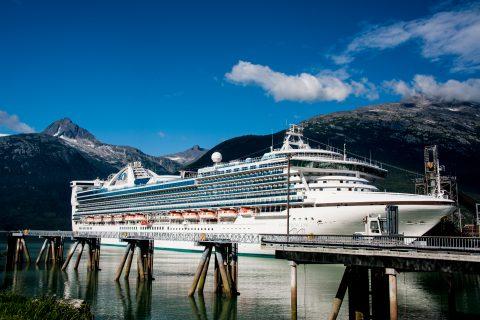 Cruise ship, Skagway, Alaska