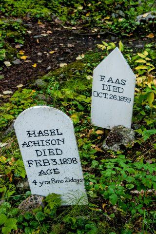 Gold Rush Cemetery, Skagway, Alaska