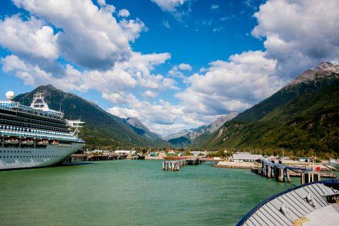 Leavign Skagway, Alaska