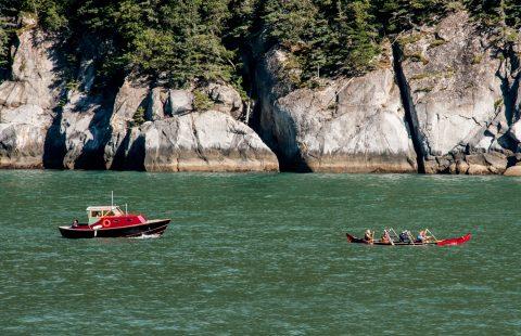 Rowing Lynn Canal to Haines, Alaska