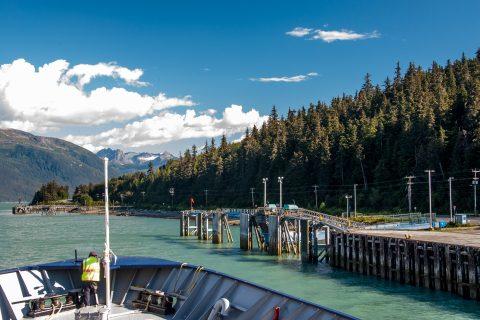 Arriving Haines, Alaska