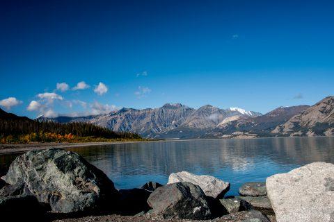 Kluane Lake, near Haines Junction, Yukon, Canada
