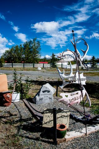 Haines Junction cemetery, Yukon, Canada