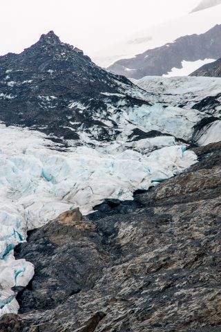 Worthington Glacier, Valdez, Alaska