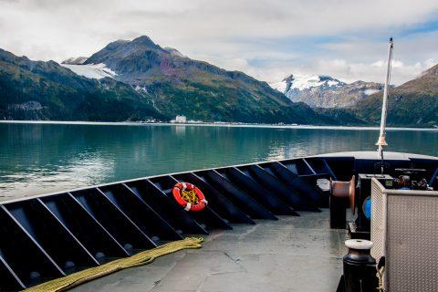 Whittier from Valdez ferry, Alaska