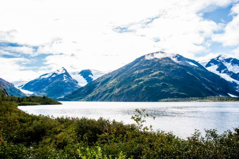 Portage Lake,  Whittier, Alaska
