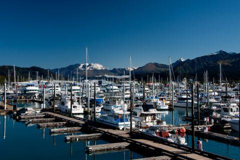 Small boat harbour, Seward, Alaska