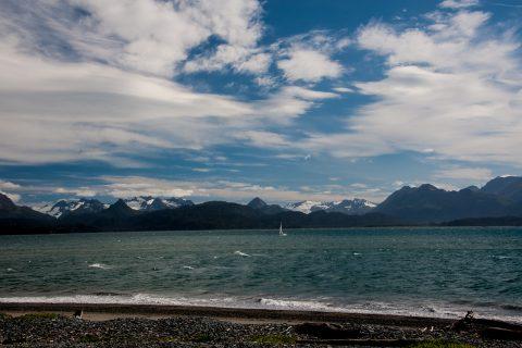 Across Kachemak Bay from Homer Spit, Alaska