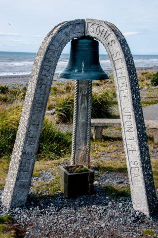 Lost mariners memorial, Homer Spit, Alaska