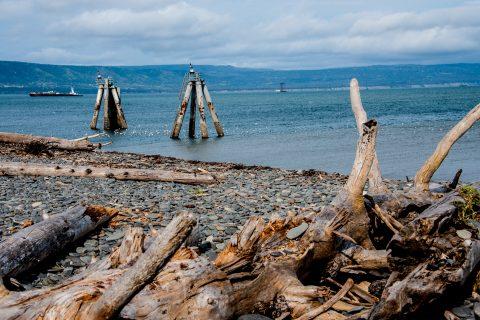 Homer Spit beach, Alaska