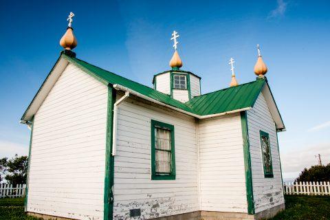 Russian church, Ninilchik, Alaska