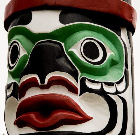 Totem, Kwakwaka'waka People, Quadra Island