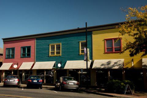 Nicholson Building, Ladysmtih, Vancouver Island