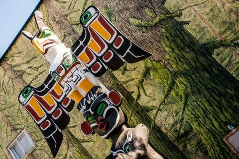Totem Pole, Duncan, Vancouver Island