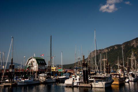 Cowichan Bay Harbour, Vancouver Island