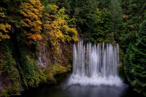 Sunken Garden, Butchart Gardens, Vancouver island