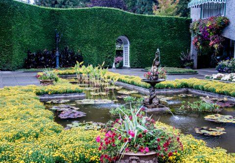 Italian Garden, Butchart Gardens, Vancouver island