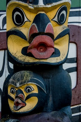 Totem pole Park, Victoria, Vancouver Island