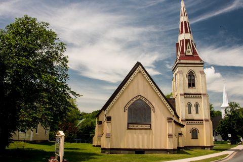 St James Anglican Church, Mahone Bay, NS