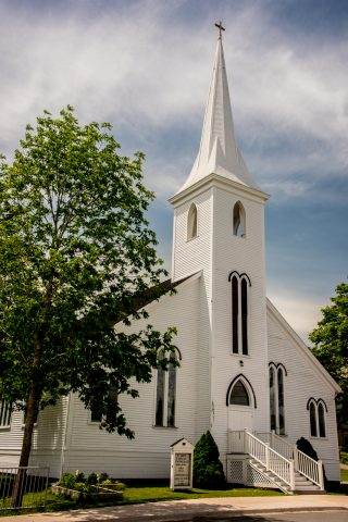 St John's Evangelical Luthern Church, Mahone Bay, NS