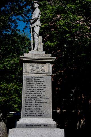War Memorial, Lunenburg. NS