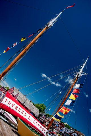 Theresa E Connor, (wooden whaling schooner) Lunenburg,NS