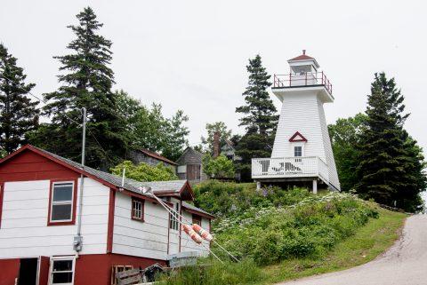 Lighthouse, Hampton, NS