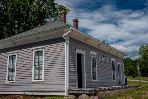 County Office, Albert County Museum, New Brunswick