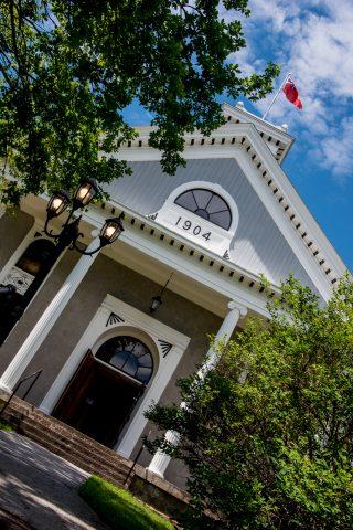 County Court House, Albert County Museum, New Brunswick