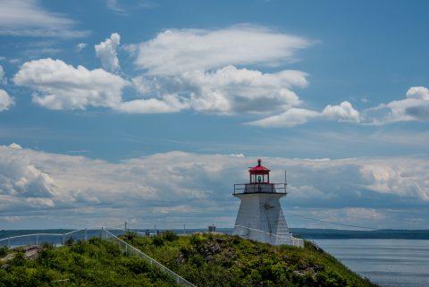 Cape Enrage lighthouse, New Brunswick