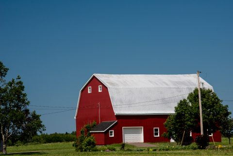 Typical barn, PEI