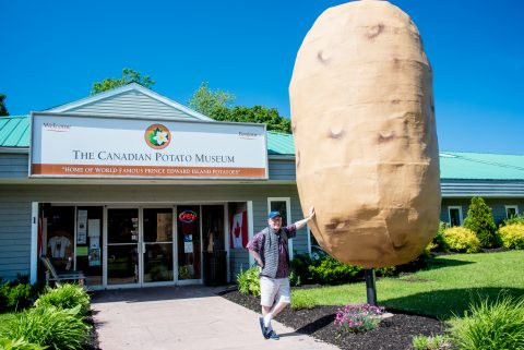 Canadian Potato Museum. PEI