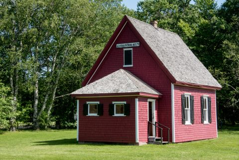 Little Red School house, O'Leary, PEI