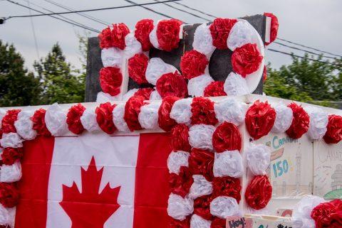 Canada Day parade, Baddeck, NS