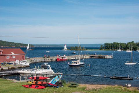Baddeck Harbour, NS