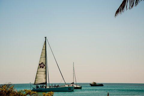 Sailing, Monkey Mia, Shark Bay, WA