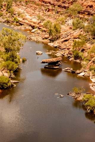 Murchison River,  Kalbarri Natonal Park, WA