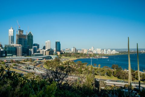 Perth from King's Park, WA