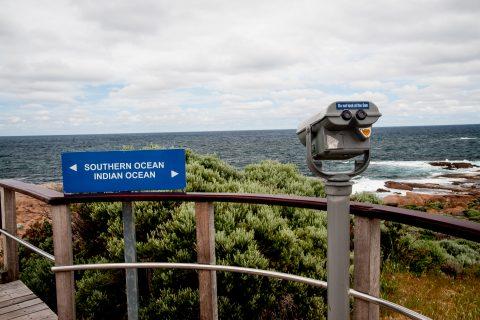 Two oceans meet - Cape Leeuwin, WA