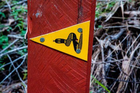Walks sign, Beedelup NP, WA